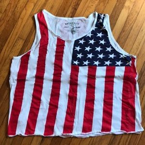 Other - American Flag muscle tank XL